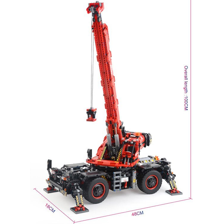 Радиоуправляемый Конструктор Автокран (4544 деталей, 100 см) - Фотография