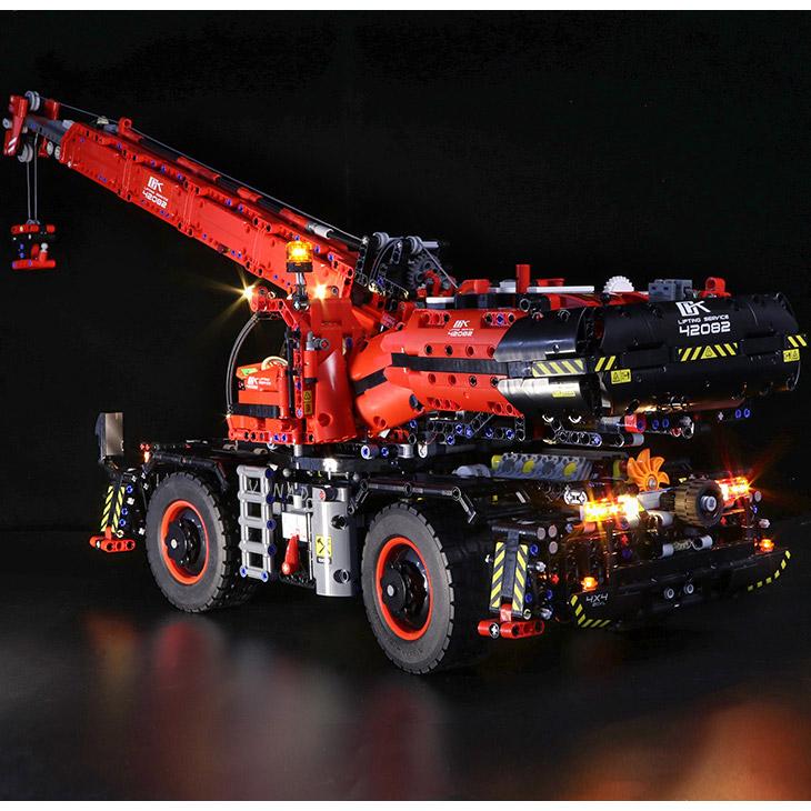 Радиоуправляемый Конструктор Автокран (4544 деталей, 100 см) - Картинка