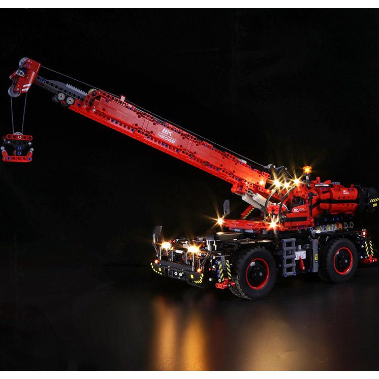 Радиоуправляемый Конструктор Автокран (4544 деталей, 100 см) - Изображение