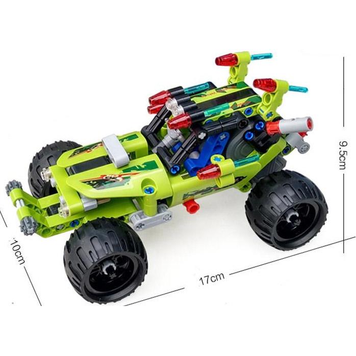 Инерционный Конструктор Багги Desert Racer (161 деталь, 17 см.) - Фото
