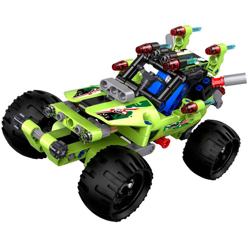 Инерционный Конструктор Багги Desert Racer (161 деталь, 17 см.)
