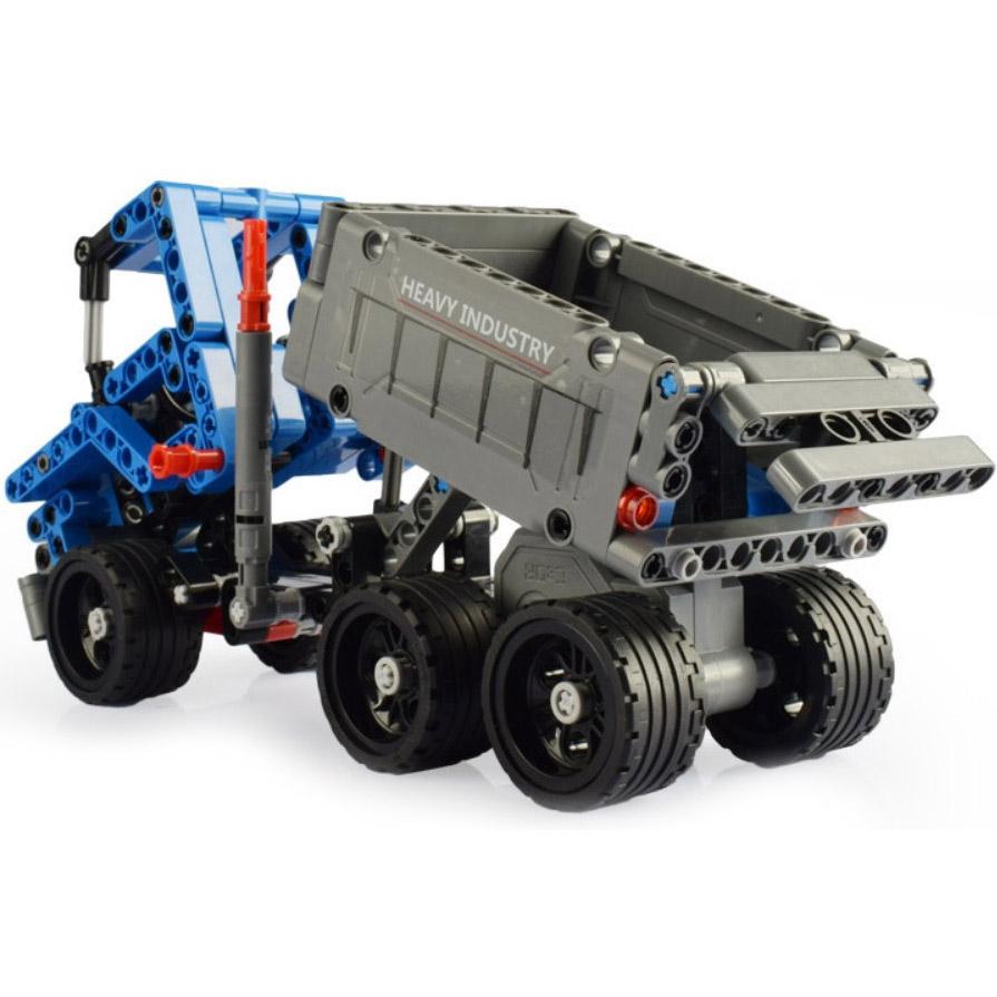 Инерционный Конструктор Грузовик Dump Truck (301 деталь, 21 см.) - В интернет-магазине