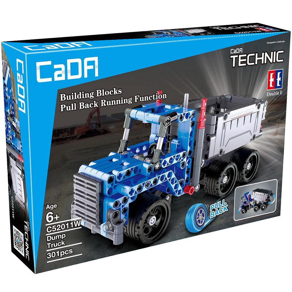 Инерционный Конструктор Грузовик Dump Truck (301 деталь, 21 см.) - Фото