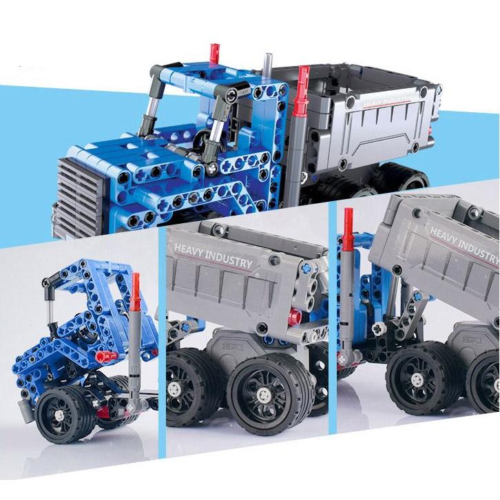 Инерционный Конструктор Грузовик Dump Truck (301 деталь, 21 см.) - Фотография