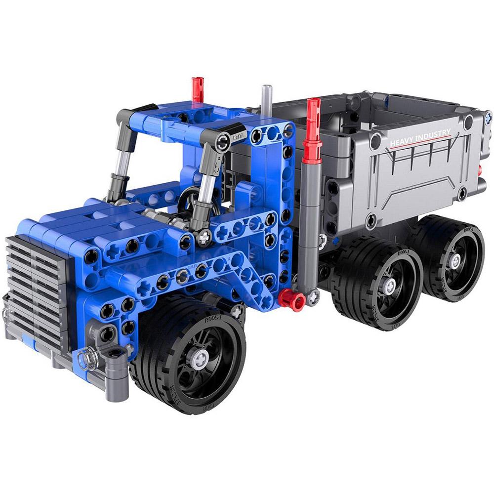 Инерционный Конструктор Грузовик Dump Truck (301 деталь, 21 см.)