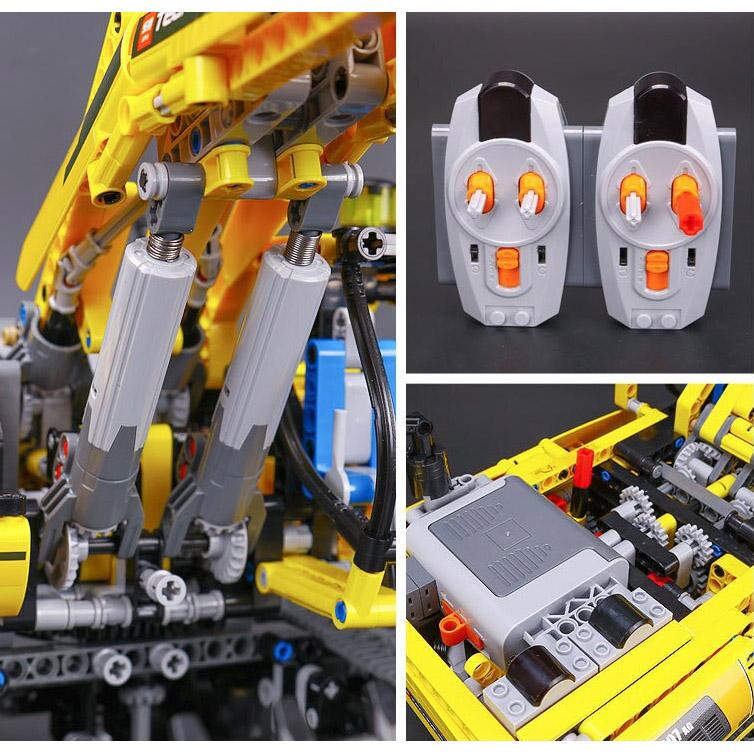 Радиоуправляемый Конструктор Гусеничный экскаватор (1123 деталей, 60 см.) - В интернет-магазине