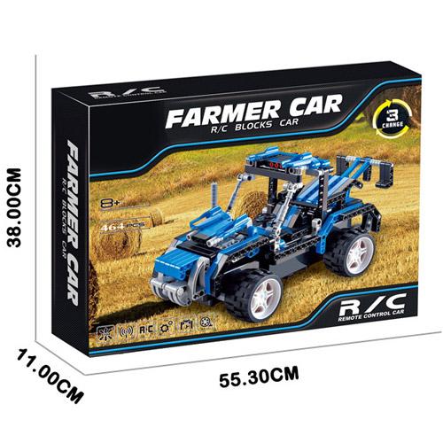 Радиоуправляемый Конструктор Farmer Car (464 деталь, 31 см.) - Картинка