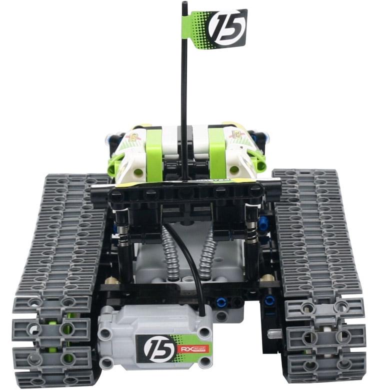 Радиоуправляемый Конструктор Гусеничный вездеход (353 детали, 24 см.) - В интернет-магазине