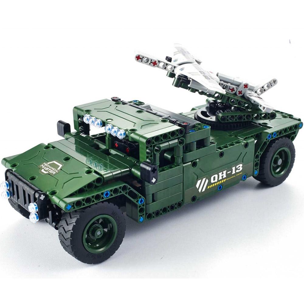 Радиоуправляемый Конструктор Humvee с беспилотником (502 деталей, 30 см.)