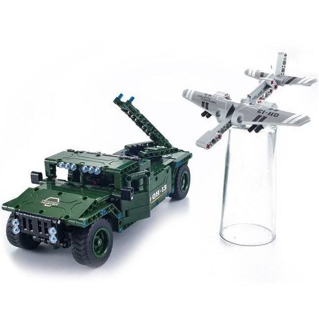 Радиоуправляемый Конструктор Humvee с беспилотником (502 деталей, 30 см.) - В интернет-магазине
