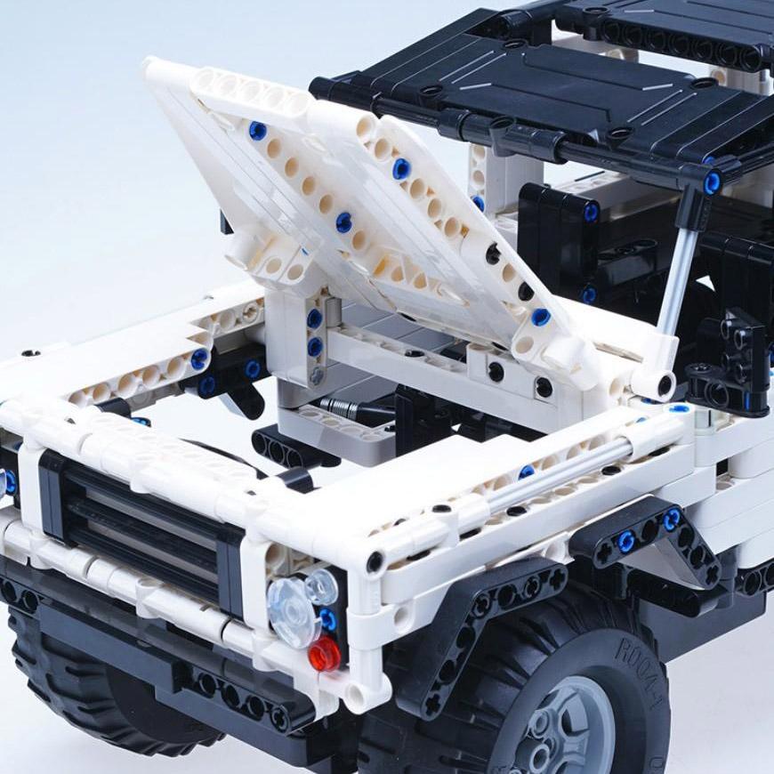 Радиоуправляемый Конструктор Джип (533 деталь, 28 см.) - Изображение
