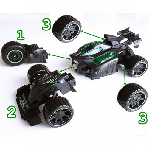 Машина-конструктор 2 в 1 драгстер-болид F1 (32 см, 2.4 GHz) - В интернет-магазине
