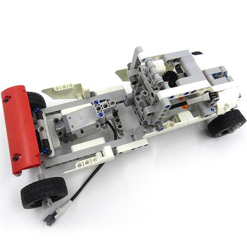 Радиоуправляемый конструктор 10 в 1 Human Torch (224 деталь) - Фото