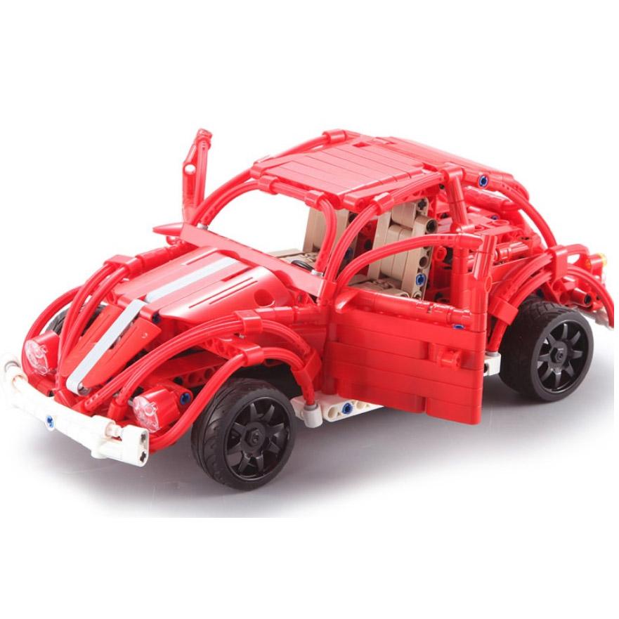 Радиоуправляемый Конструктор Машинка Жук (472 деталь, 30 см.) - Изображение