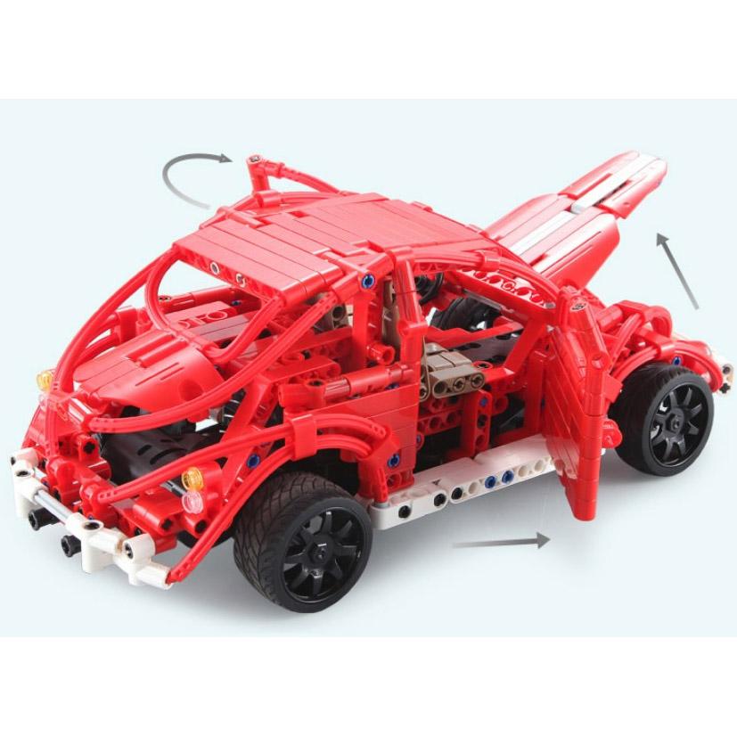 Радиоуправляемый Конструктор Машинка Жук (472 деталь, 30 см.) - В интернет-магазине