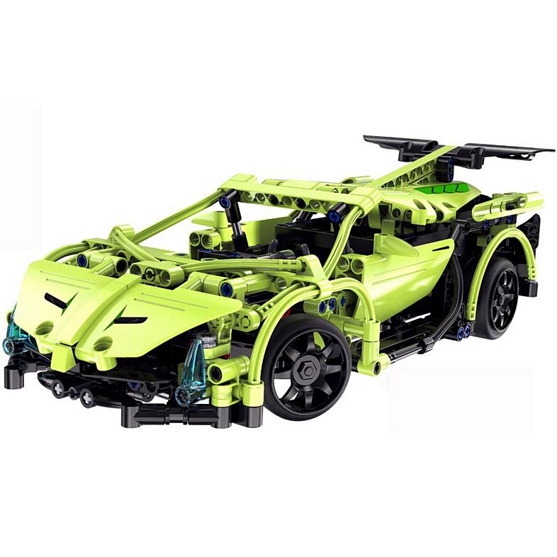 Радиоуправляемый Конструктор Lamborghini (453 деталь, 30 см.) - Картинка
