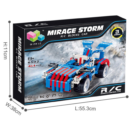 Радиоуправляемый Конструктор Mirage Storm (464 деталь, 31 см.) - В интернет-магазине