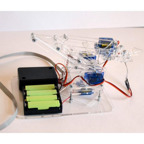 Конструктор робо-рука (движение во всех направлениях) - Фотография