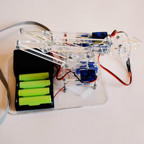 Конструктор робо-рука (движение во всех направлениях) - Картинка