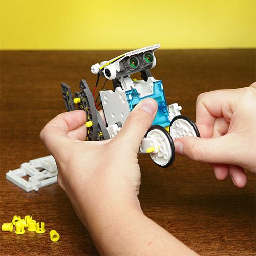 Конструктор Роботостроение 14 в 1 (198 деталей,  32 см.) - Изображение