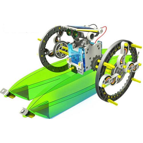 Конструктор Роботостроение 14 в 1 (198 деталей,  32 см.) - Фото