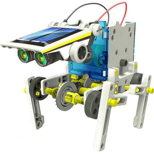 Конструктор Роботостроение 14 в 1 (198 деталей,  32 см.) - Картинка