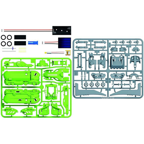 Конструктор Автомобильный парк 7 в 1 (55 деталей,  25 см.) - Фотография