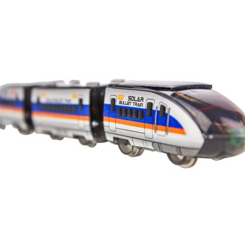 Конструктор Поезд на солнечной батарее (17 см.) - Фото