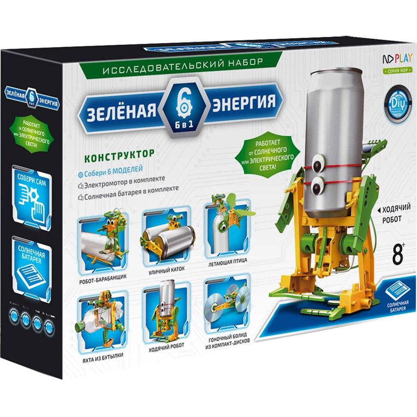 Конструктор Зеленая энергия 6 в 1 (85 деталей,  32 см.)