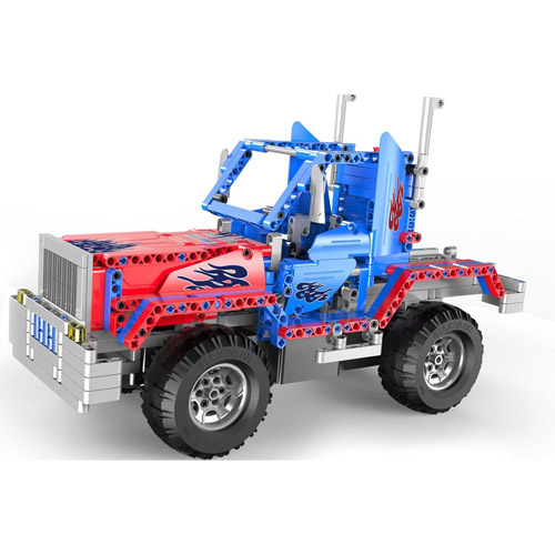 Радиоуправляемый конструктор грузовик Оптимус Прайм (531 деталей, 35 см.)