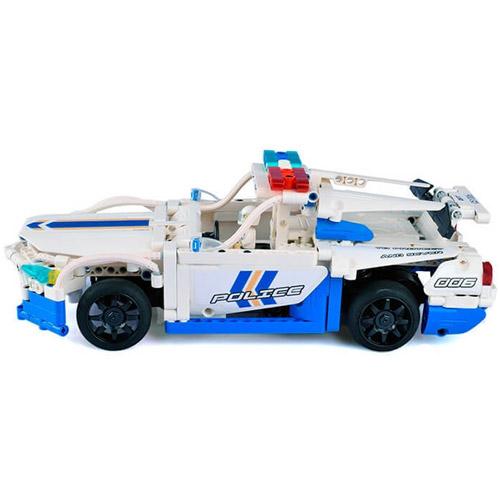 Радиоуправляемый конструктор Полицейская машина (430 деталь, 30 см.) - Изображение