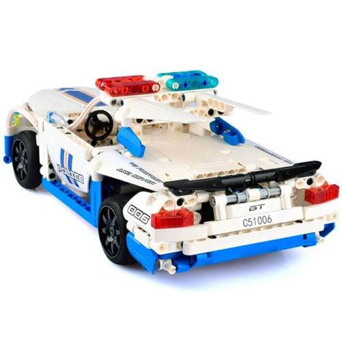 Радиоуправляемый конструктор Полицейская машина (430 деталь, 30 см.) - В интернет-магазине