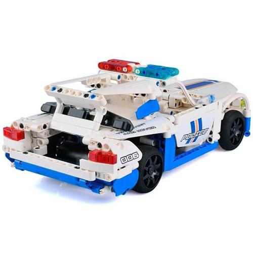 Радиоуправляемый конструктор Полицейская машина (430 деталь, 30 см.) - Фото