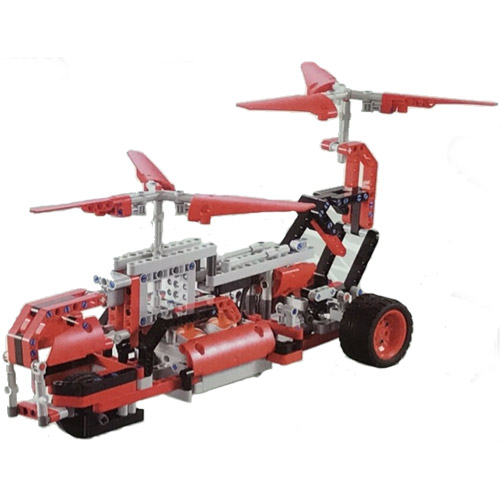 Радиоуправляемый конструктор 90 в 1 Red Alert (476 деталь, 28 см.)