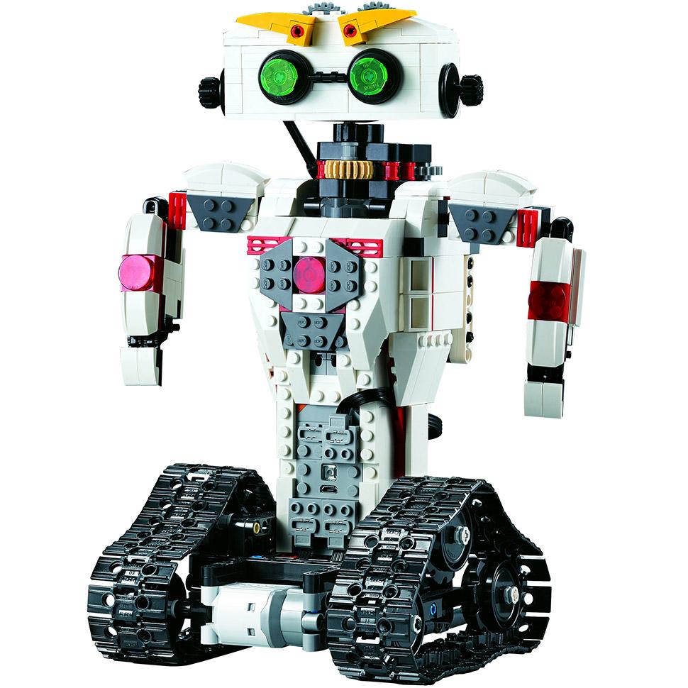 Радиоуправляемы Конструктор Робот KAKA или скорпион 2 в 1 (710 деталей, 28 см.) - Фото