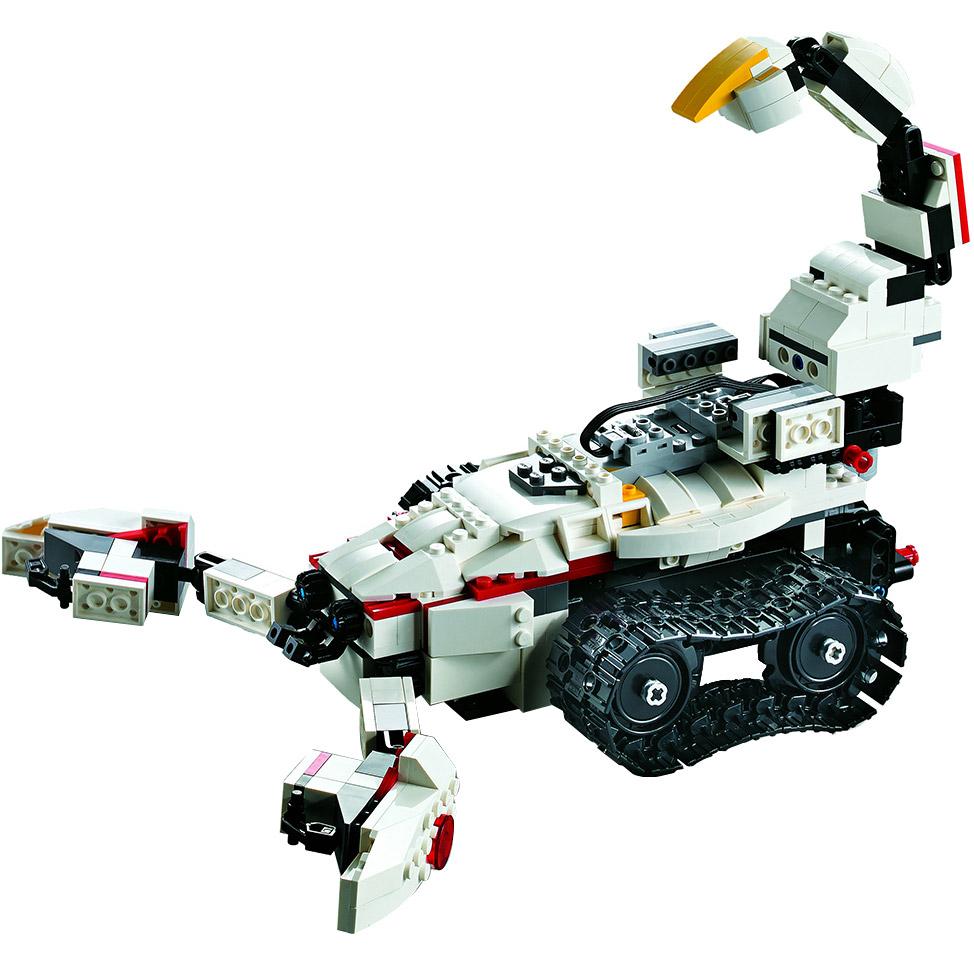 Радиоуправляемы Конструктор Робот KAKA или скорпион 2 в 1 (710 деталей, 28 см.) - Картинка