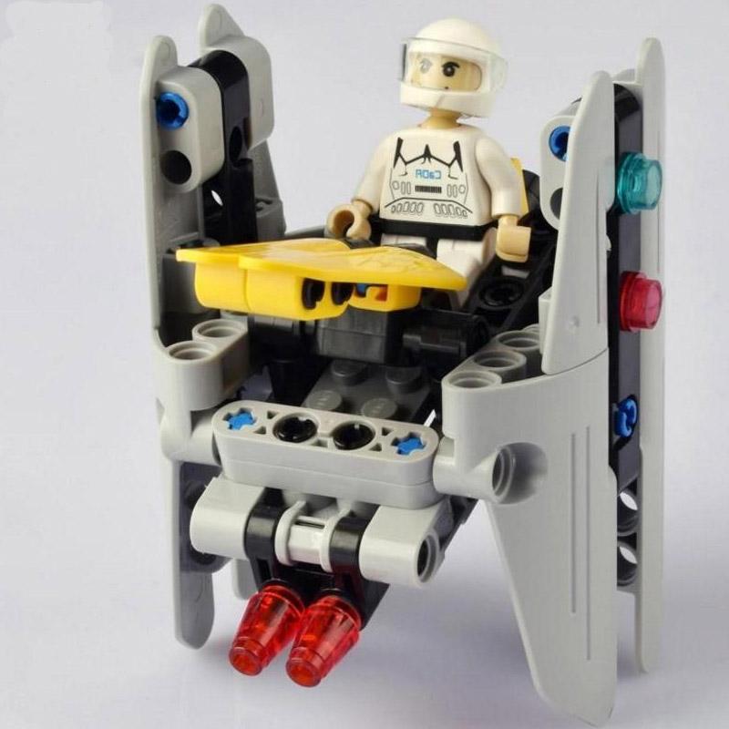Конструктор Звездный десант Peace Gunship (83 детали) - Фото