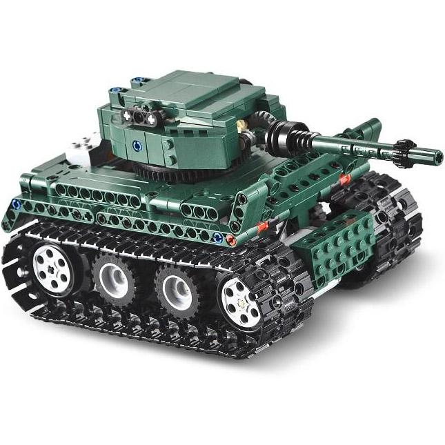 Радиоуправляемый конструктор Танк Tiger 1 (313 деталь, 25 см.)