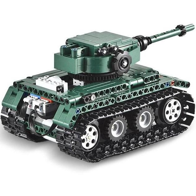 Радиоуправляемый конструктор Танк Tiger 1 (313 деталь, 25 см.) - В интернет-магазине