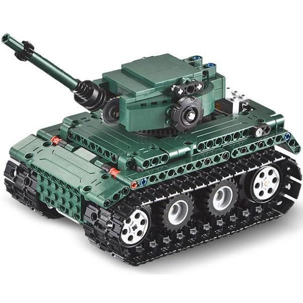 Радиоуправляемый конструктор Танк Tiger 1 (313 деталь, 25 см.) - Фото
