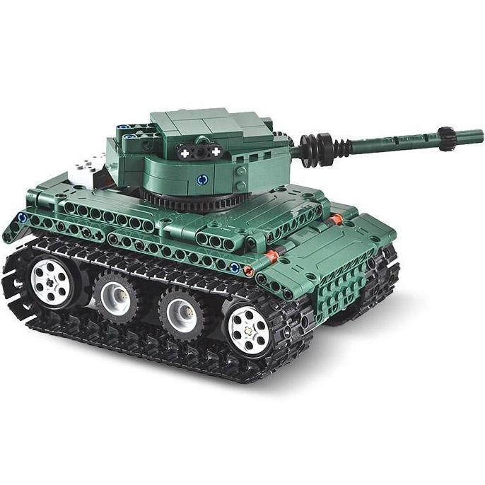Радиоуправляемый конструктор Танк Tiger 1 (313 деталь, 25 см.) - Фотография
