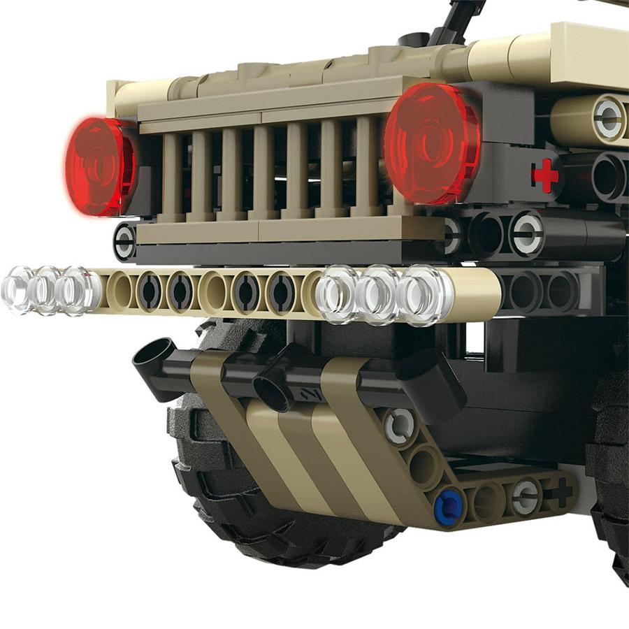 Радиоуправляемый Конструктор Военный Hummer (538 деталей, 27 см.)