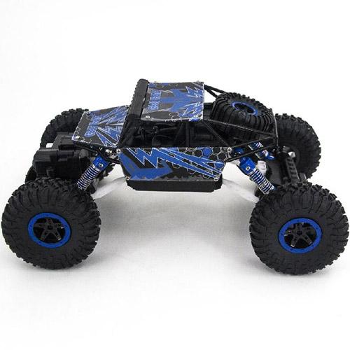Синий Радиоуправляемый Джип-краулер 1:18 Super Speed (27 см)