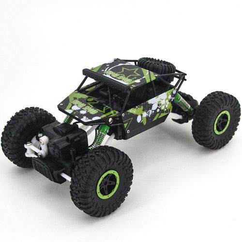 Зеленый Радиоуправляемый Джип-краулер 1:18 Super Speed (27 см)