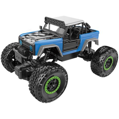 Синий Радиоуправляемый Краулер Rock Crawler (4x4, 1:20, 20 см)
