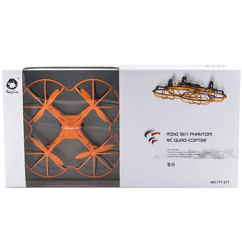 Радиоуправляемый Микро-Квадрокоптер Sky Phantom (12 см, 2.4Ghz) - В интернет-магазине
