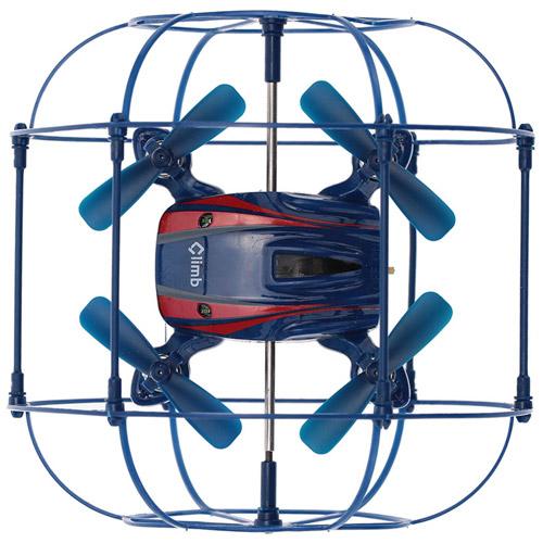 Радиоуправляемый мини Квадрокоптер в сфере из сетке (2.4Ghz, 10 см) - В интернет-магазине