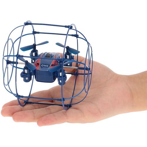 Радиоуправляемый мини Квадрокоптер в сфере из сетке (2.4Ghz, 10 см) - Изображение