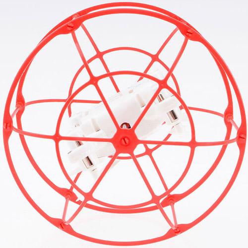 Радиоуправляемый мини Квадрокоптер в сфере из сетке (2.4Ghz, 10 см) - Фото