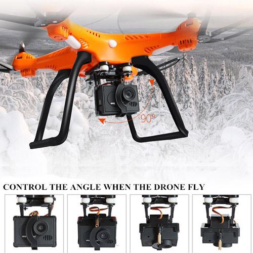 Квадрокоптер 899C с GPS (48 см) - Картинка